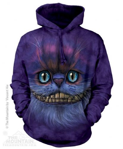 Big Face Cheshire - Adult Cat Hoodie  Sweatshirt - The Mountain®